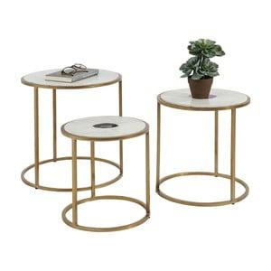 Zestaw 3 stolików Kare Design Limbo