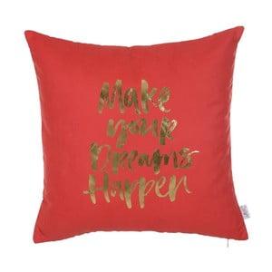 Czerwona poszewka na poduszkę Apolena Dreams, 45x45 cm