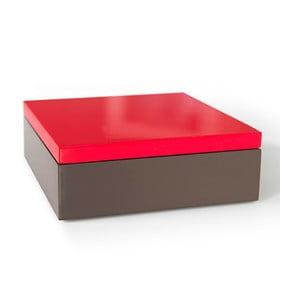 Pudełko drewniane Remember Red