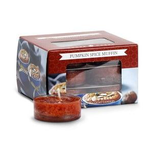 Zestaw 12 tealight Goose Creek Aromatyczna bułeczka z dyni