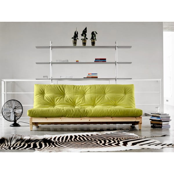 Sofa rozkładana Karup Fresh Natural/Pistacie
