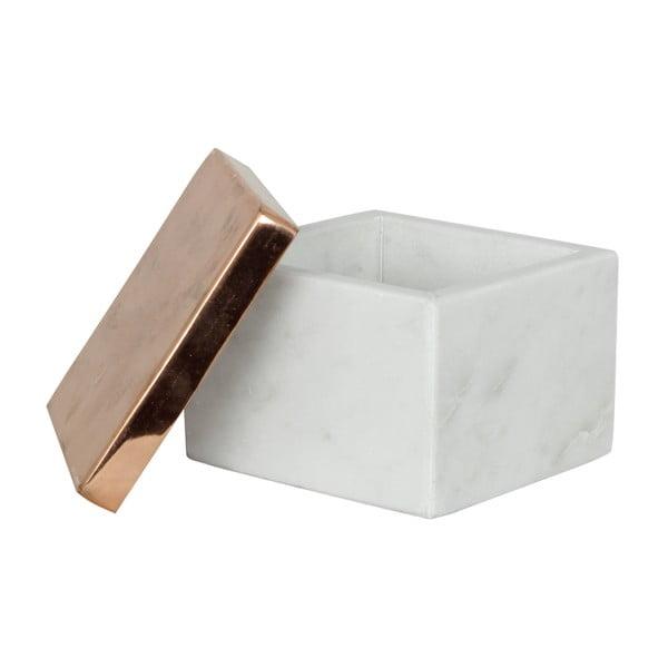 Marmurowe pudełka Tagne, 10x10 cm