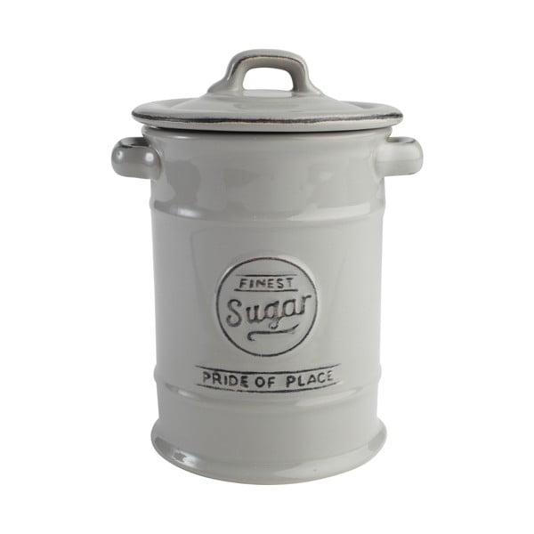 Szary pojemnik ceramiczny na cukier T&G Woodware Pride of Place