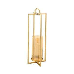 Świecznik w złotej barwie Santiago Pons Star, wys.48cm