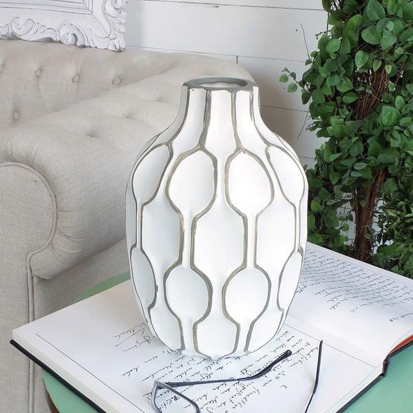 Wazon Orchidea Milano Modern White, 27 cm