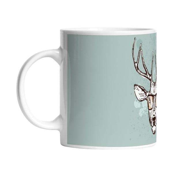Ceramiczny kubek Handsome Deer, 330 ml