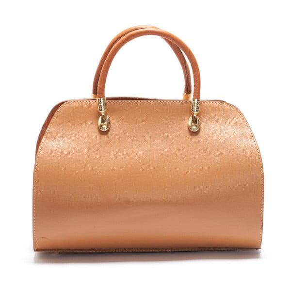 Skórzana torebka Mangotti 415 Cognac