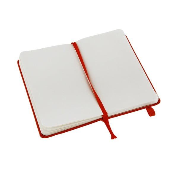 Notatnik Moleskine XS Red, czysty