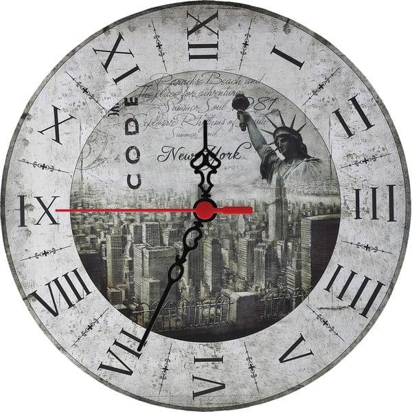 Zegar ścienny New York, 30 cm