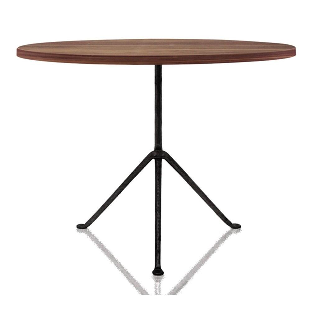 Stół z blatem z drewna jesionu Magis Officina, ø100cm