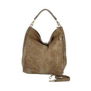 Beżowa torebka skórzana Andrea Cardone Edvige