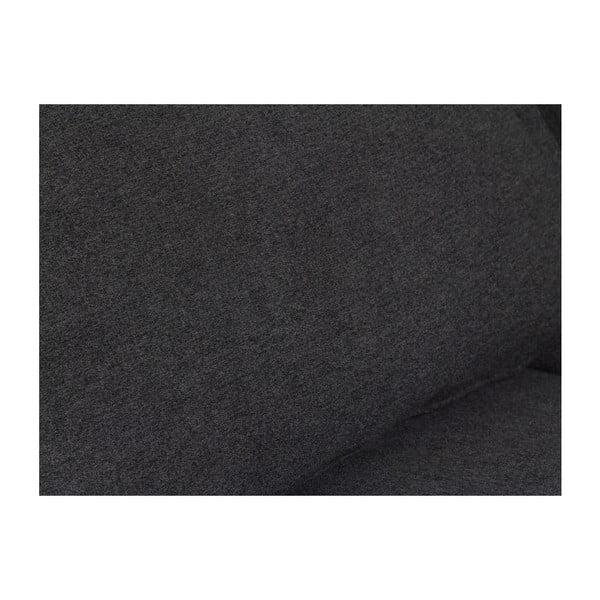 Czarny fotel rozkładany Santiago Pons Bia