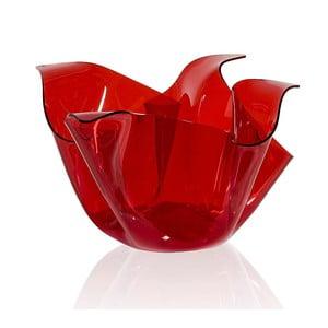 Misa Drappeggi Vaso Rosso