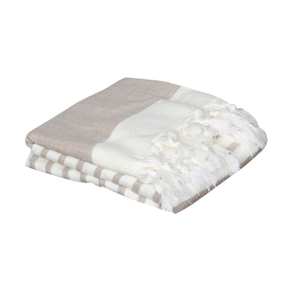 Ręcznik hammam Terry Beige, 95x170 cm