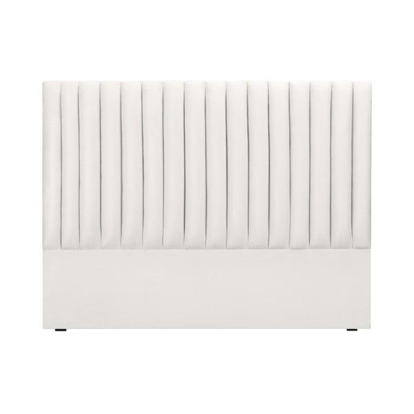 Jasnoszary zagłówek łóżka Cosmopolitan design NJ, 160x120 cm