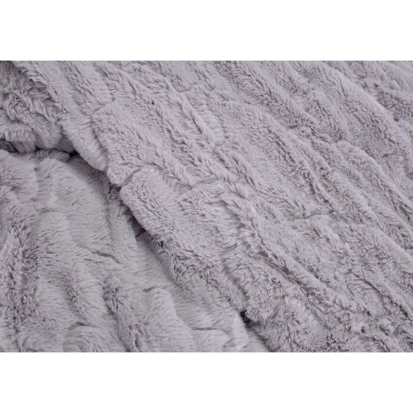 Koc Light Grey Wave, 170x130 cm
