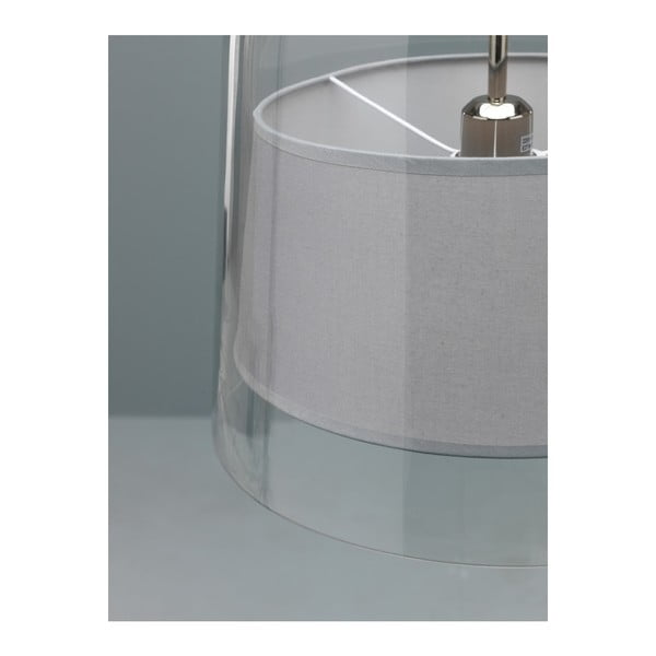 Szara lampa wisząca Design Twist Kalmar
