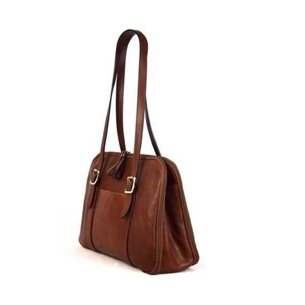 Skórzana torebka Santo Croce 132054 Brown