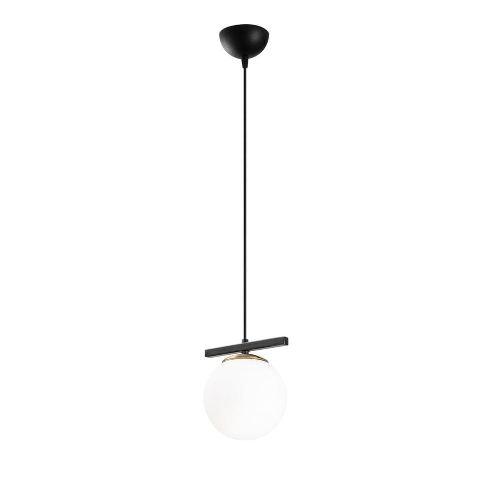 Czarno-biała lampa wisząca Opviq lights Üzüm