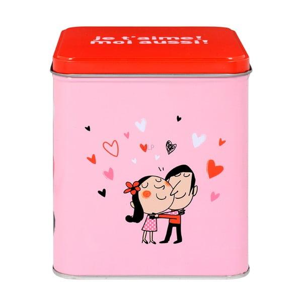 Zestaw 2 kubków Amoureux, pink/red
