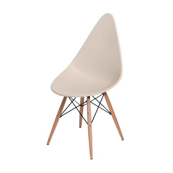 Zestaw 2 beżowych krzeseł D2 Rush DWS