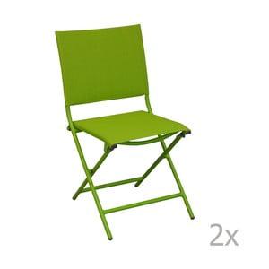Zestaw 2 krzeseł ogrodowych Pieghevoli Mousse