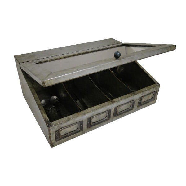 Pojemnik metalowy Antic Line Ouvert