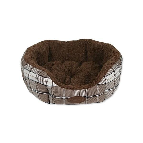 Legowisko dla psa Edinburgh Donut M 60x53x16 cm, czekoladowe