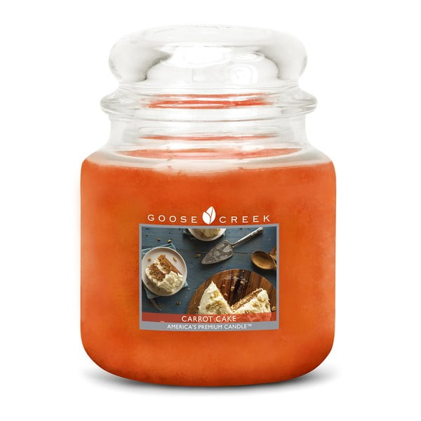 Świeczka zapachowa Goose Creek Ciasto marchewkowe, 0,45 kg