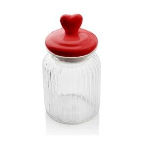 Pojemnik z serduszkiem Sabichi Heart Glass, 900 ml