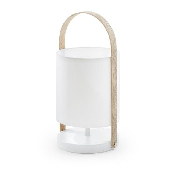 Biała lampa stołowa La Forma Zayla
