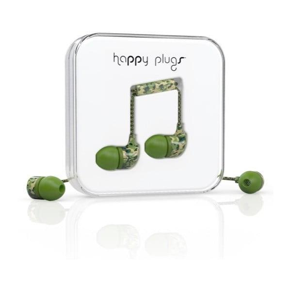 Słuchawki dokanałowe Happy Plugs Camouflage