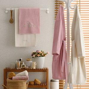 Komplet męskiego i damskiego szlafroka i 4 ręczników Miranda