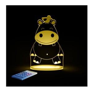 Dziecięca lampka nocna LED Aloka Hipopotam