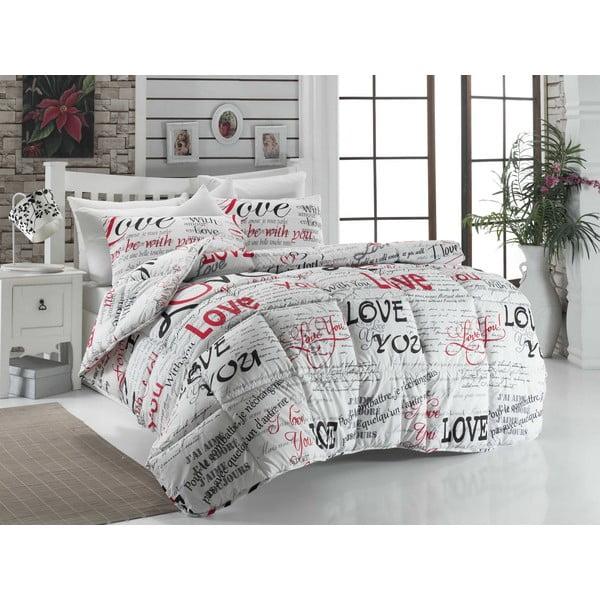 Narzuta pikowana na łóżko dwuosobowe Rue, 195x215 cm
