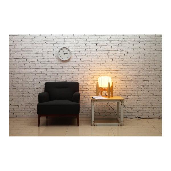 Biała lampa stołowa Garageeight Tom