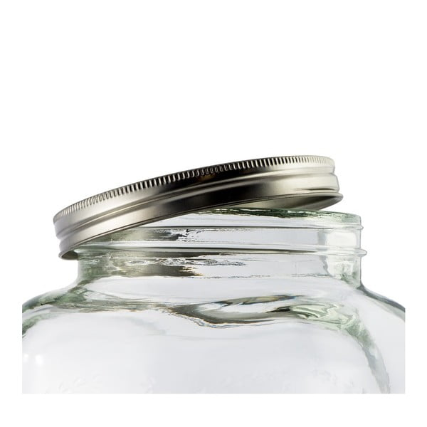 Szklana beczułka na lemoniadę Dispenser, 4 l