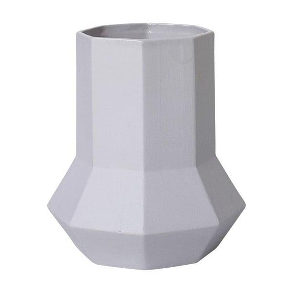 Wazon ceramiczny Geometric Grey