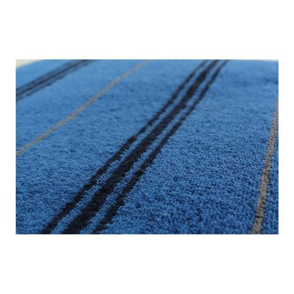 Zestaw 2 niebieskich ręczników kąpielowych Gary Midnight, 70x140 cm