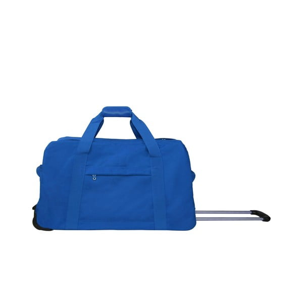 Torba podróżna na kółkach Sac Blue, 48 cm