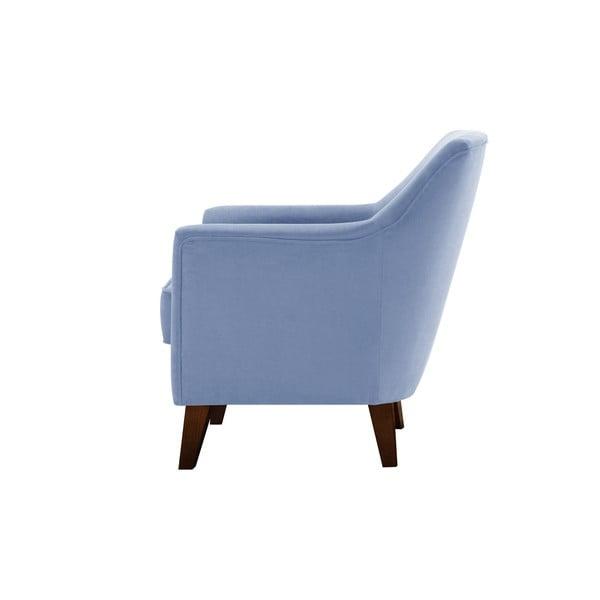 Błękitny fotel Jalouse Maison Kylie