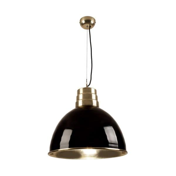 Czarna lampa wisząca HF Living Divine, duża