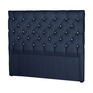 Granatowy zagłówek łóżka Stella Cadente Planet, 180x118 cm