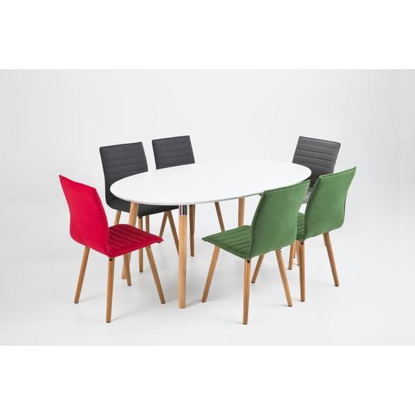 Krzesło do jadalni Karla, zielona