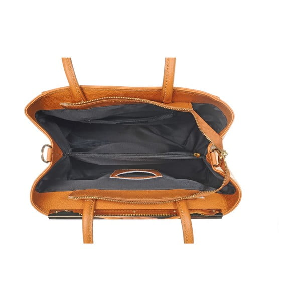 Skórzana torebka Como Orange