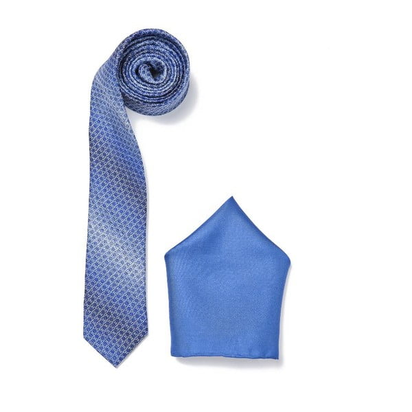 Zestaw krawata i poszetki Ferruccio Laconi 21