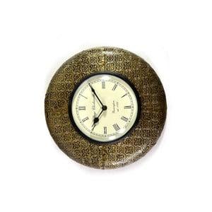 Zegar ścienny z kutego metalu Sikkim, 32 cm
