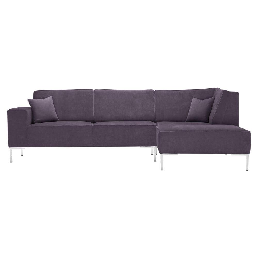 Grafitowa narożna sofa Corinne Cobson Blackbird, prawy róg