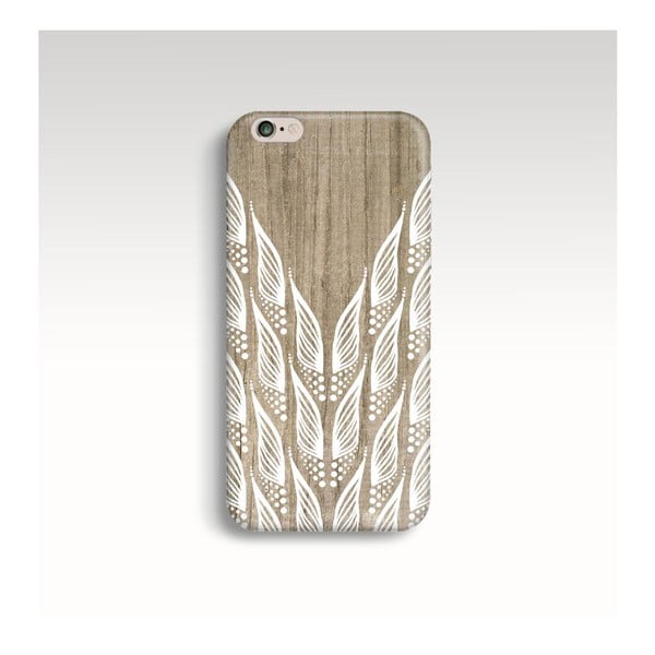 Etui na telefon Wooden Wings na iPhone 6+/6S+