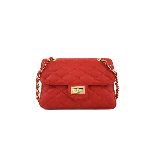 Skórzana torebka Valentina Red
